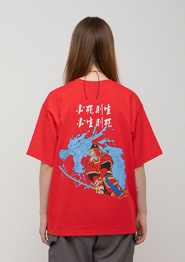 Own label brand[드네이지]GENERAL LEE SOON SHIN OVERSIZE T-SHIRTS