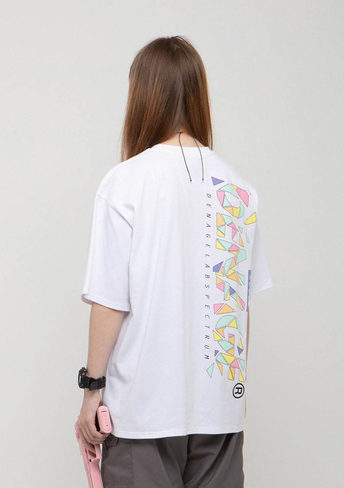 Own label brand[드네이지] CRUSH BIG LOGO  OVERSIZE T-SHIRTS