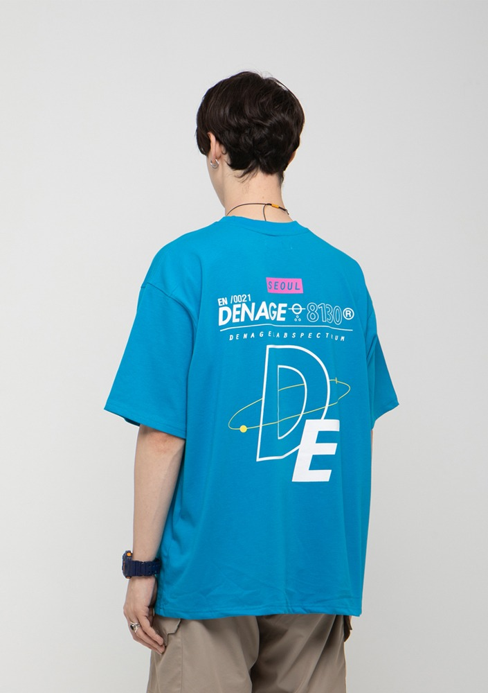 Own label brand[드네이지] ATOMIC MULTI LOGO  OVERSIZE T-SHIRTS