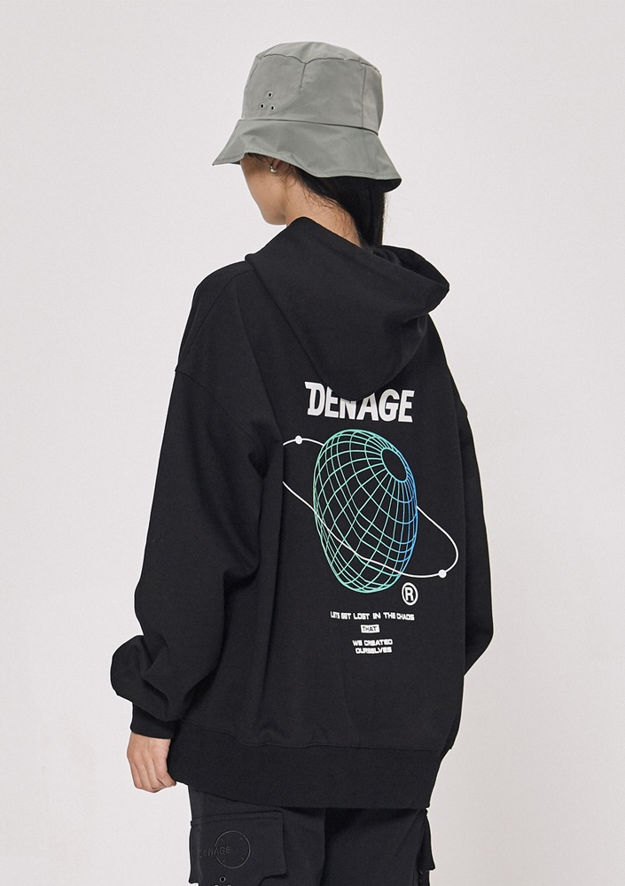 Own label brand[DE-NAGE] Bring Out Oversize Hood Black_0162