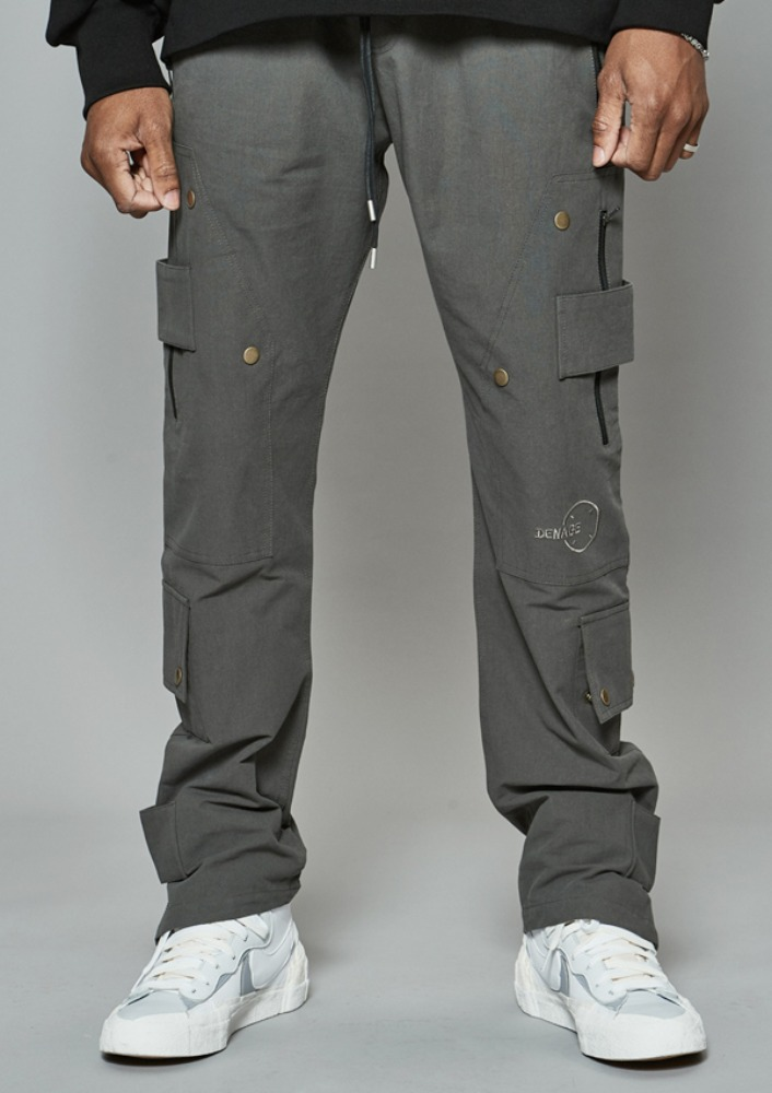 Own label brand[DE-NAGE] Cover Up Divide Pants Grey 0178