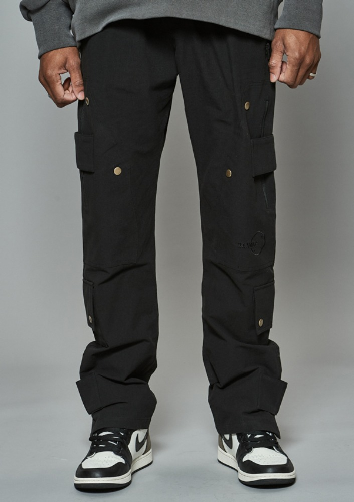 Own label brand[DE-NAGE] Cover Up Divide Pants Black 0177