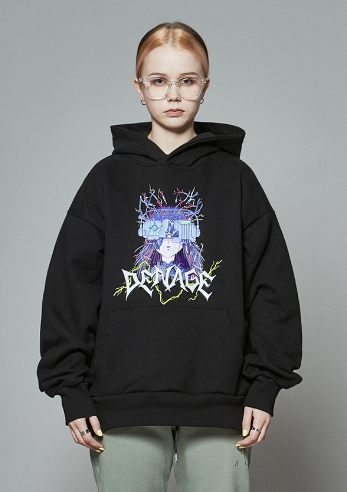 Own label brand[DE-NAGE] TAETAE x DENAGE Observation Hood Black 0183
