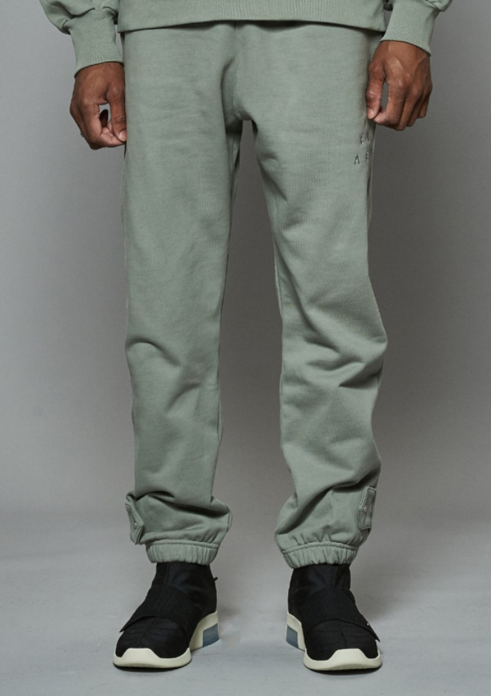 Own label brand[DE-NAGE] Hidden Pocket Snap Pants Green 0176